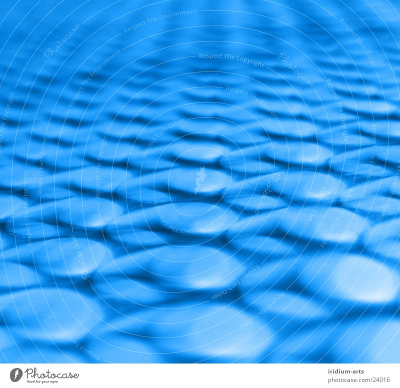 cyber-dots Background picture Abstract Style Long exposure Photographic technology Point Macro (Extreme close-up) Polka dot Symmetry Geometry Repeating Blue Row