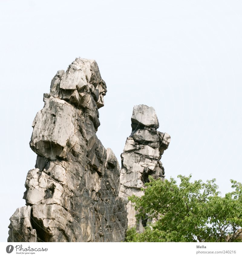 Nature Environment Landscape Mountain Stone Rock Natural Large Stand Firm Bizarre Sharp-edged Harz Opposite