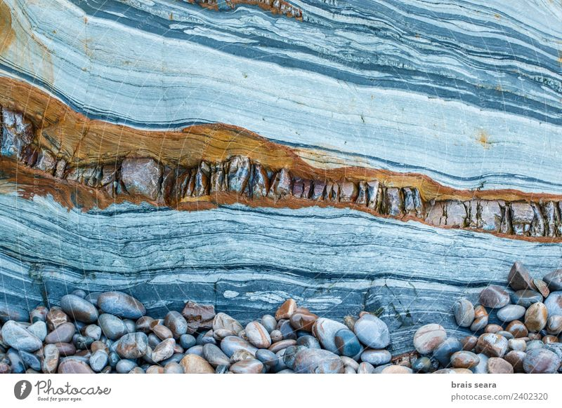 Sedimentary Rocks Formation Nature Colour Ocean Beach Environment Background picture Coast Art Stone Earth Europe Education Profession Spain