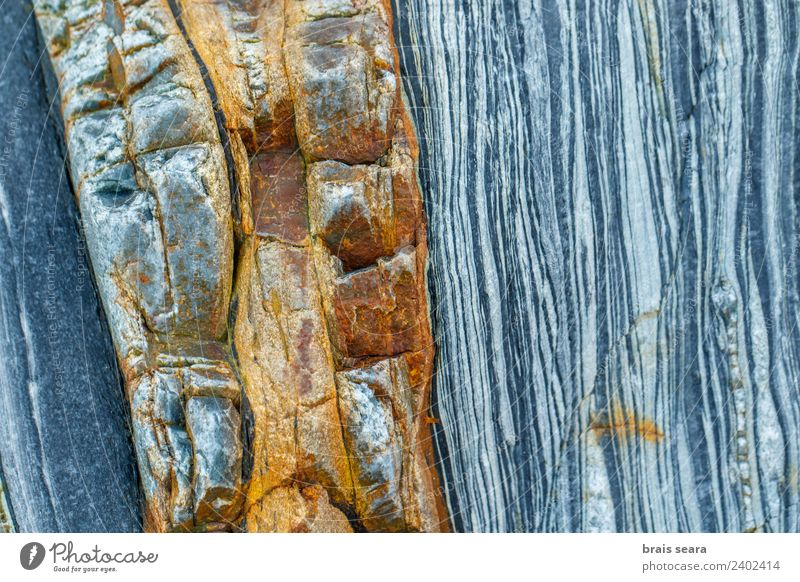Sedimentary rocks texture Beach Ocean Wallpaper Science & Research Adult Education Geology Geologist Nature Rock Coast Tourist Attraction Landmark Stone Blue