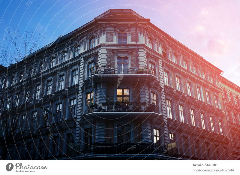 Summer Town House (Residential Structure) Lifestyle Berlin Style Tourism Exceptional Facade Moody Living or residing Flat (apartment) Contentment Retro Large