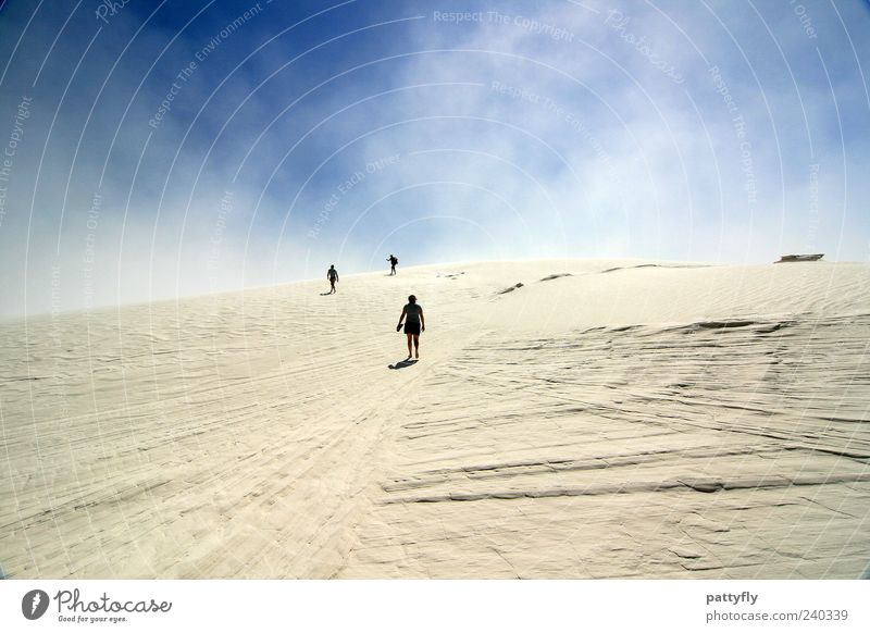 Nature Sky Summer Vacation & Travel Clouds Group Sand Landscape Moody Together Going Wind Walking Earth Adventure Target