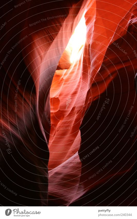 Nature Environment Moody Rock Exceptional Elements Fantastic Visual spectacle Natural phenomenon Abstract Wall of rock Rock formation Antelope Canyon