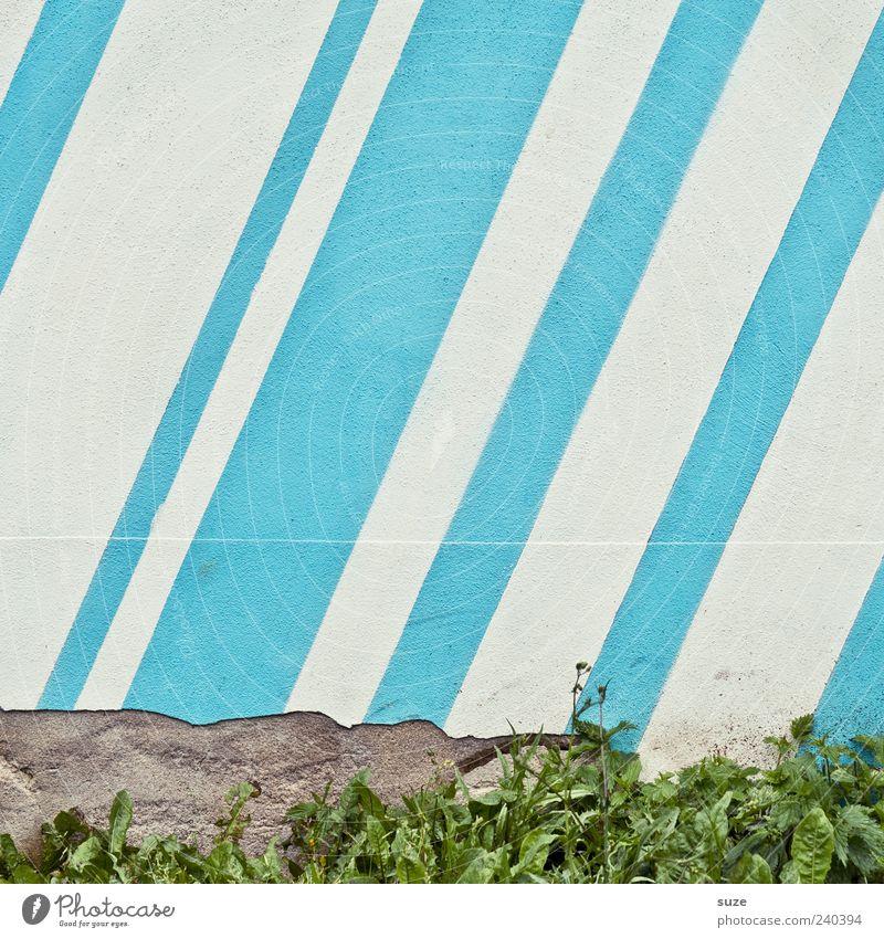 Blue White Wall (building) Grass Wall (barrier) Line Background picture Broken Stripe Illustration Decline Diagonal Tilt Plaster Parallel Striped