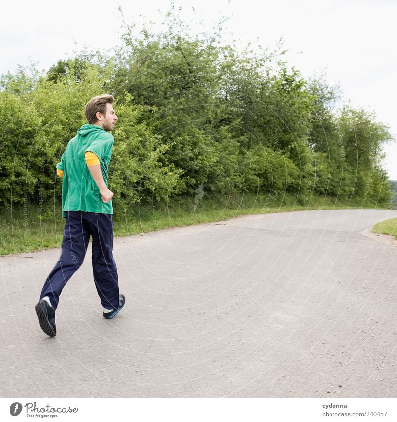 Stay fit Lifestyle Healthy Well-being Leisure and hobbies Trip Far-off places Freedom Sports Fitness Sports Training Jogging Environment Nature Landscape Bushes