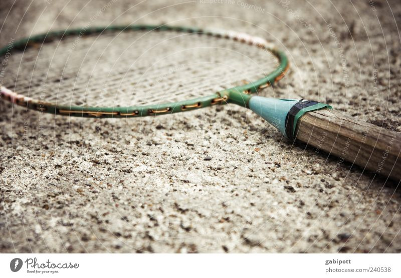 Old Sports Playing Wood Brown Leisure and hobbies Lie Retro Forget Section of image Partially visible Badminton Object photography