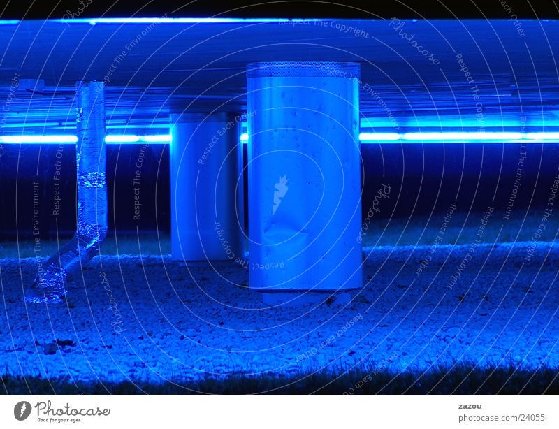 blue background Cellar House (Residential Structure) Building Architecture Blue blue light