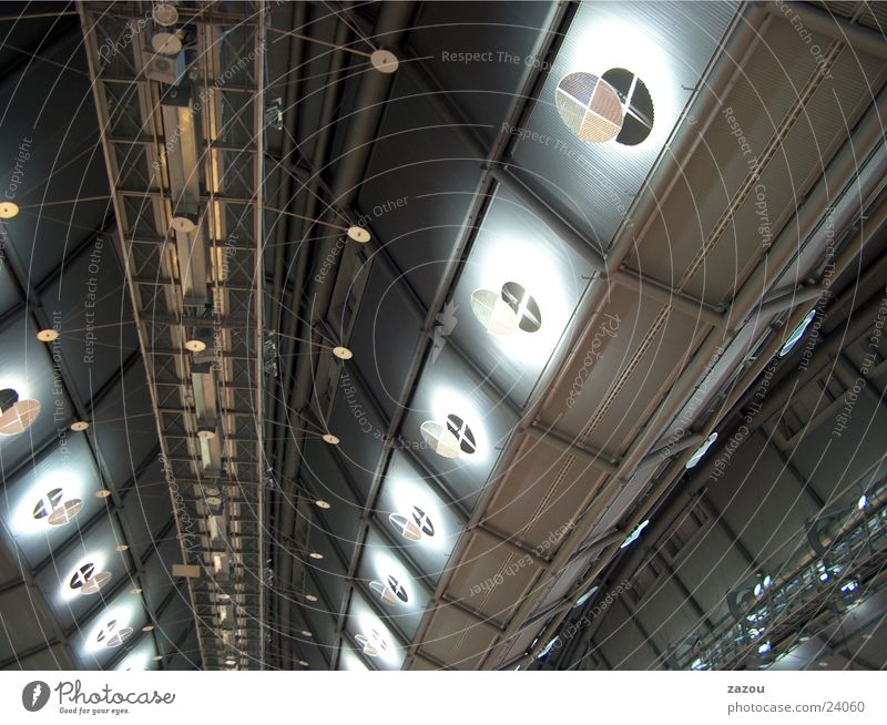 roof structure Roof Exhibition hall Architecture Blanket Warehouse Above hall roof Modern UFO