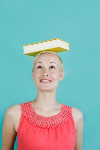 Woman Art School Esthetic Study Book Reading Adult Education Profession Balance Career Professional training Work of art Know Print media