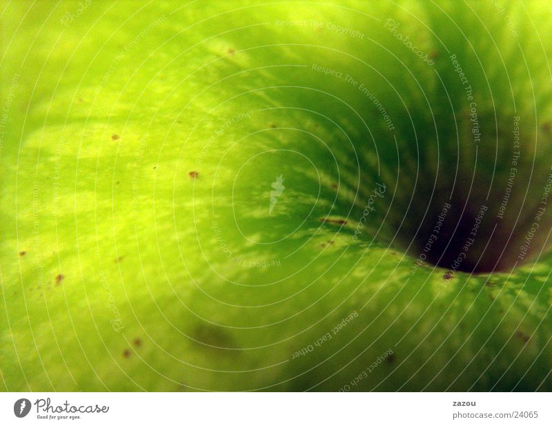 Apple goes pop! Green Vitamin Healthy Macro (Extreme close-up) Close-up Fruit Nutrition