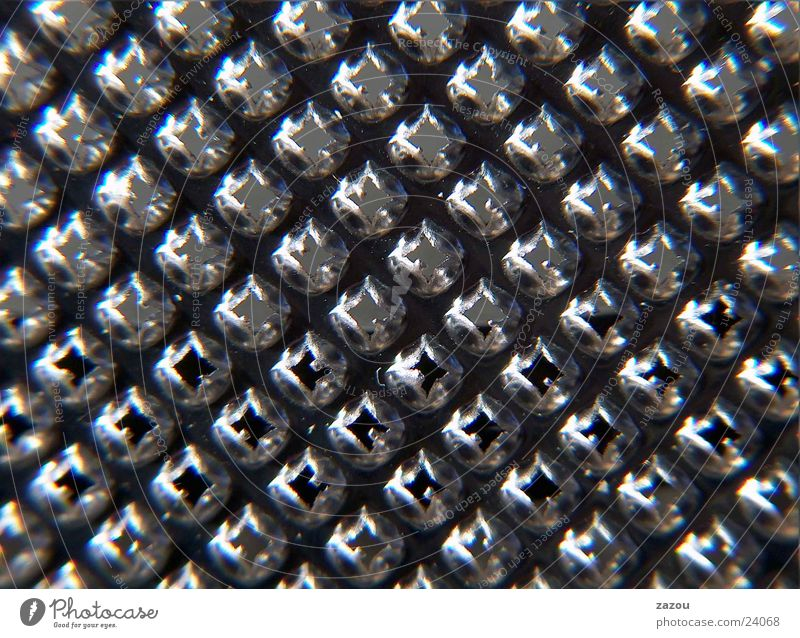 grater Grater Nutmeg Tin Aluminium Kitchen nutmeg grater Macro (Extreme close-up) Detail Metal Classification