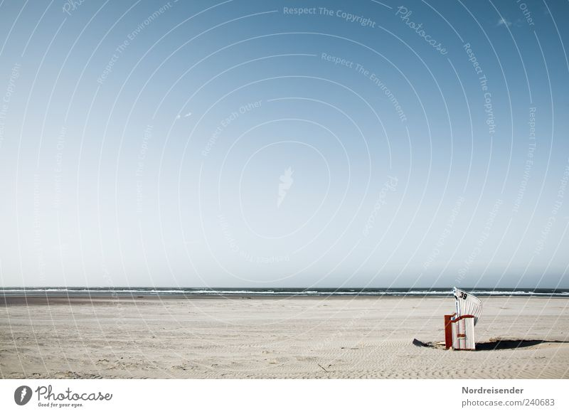 Spiekeroog | Unique Selling Point Harmonious Relaxation Calm Vacation & Travel Summer Summer vacation Sunbathing Beach Nature Landscape Sand Beautiful weather