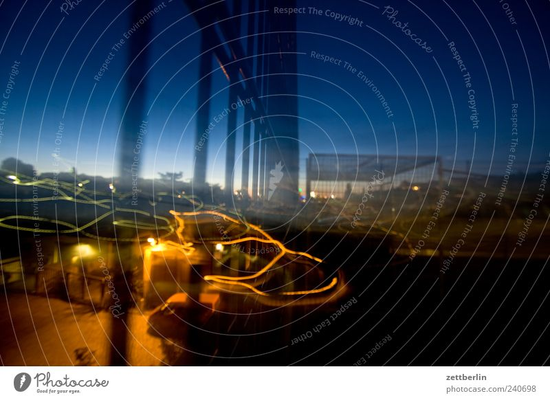 Sky City House (Residential Structure) Wall (building) Architecture Berlin Building Wall (barrier) High-rise Manmade structures Skyline Hip & trendy Downtown Grating Industrial plant Night sky