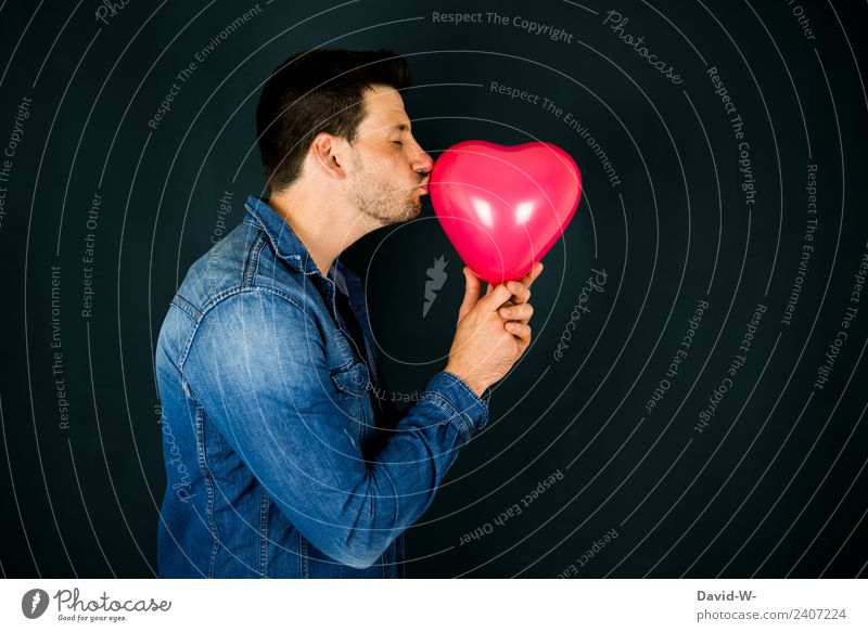 Human being Youth (Young adults) Man Young man Red Eroticism Adults Lifestyle Love Emotions Art Masculine Dream Sex Happiness