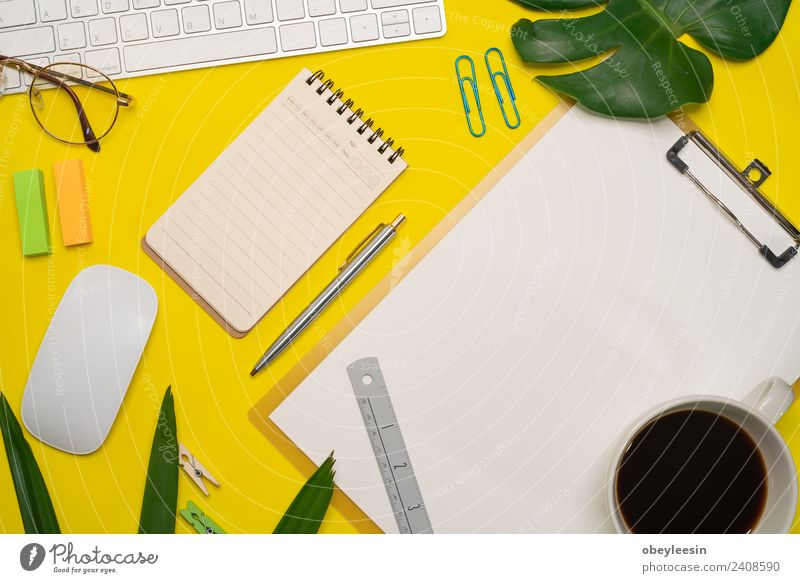 Minimal work space, Top view flat lay Colour Black Art School Fashion Work and employment Above Design Office Modern Vantage point Creativity Desk Text
