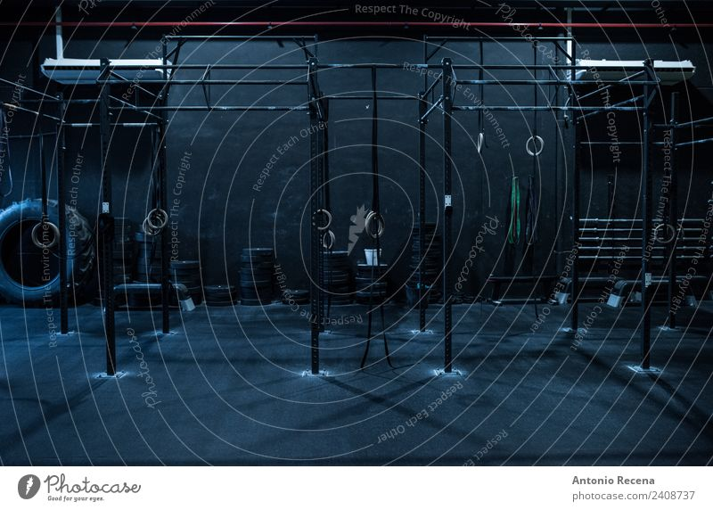 Empty ring training room a royalty free stock photo from photocase