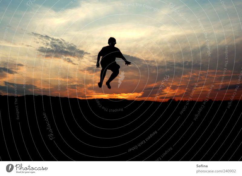 Human being Joy Jump Joie de vivre (Vitality) Dusk Euphoria Structures and shapes