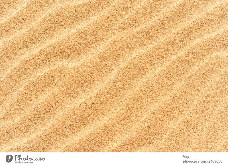Sand texture on the beach Design Summer Beach Ocean Wallpaper Nature Sunlight Warmth Drought Coast Desert Natural Clean Brown Yellow Gold Orange Consistency