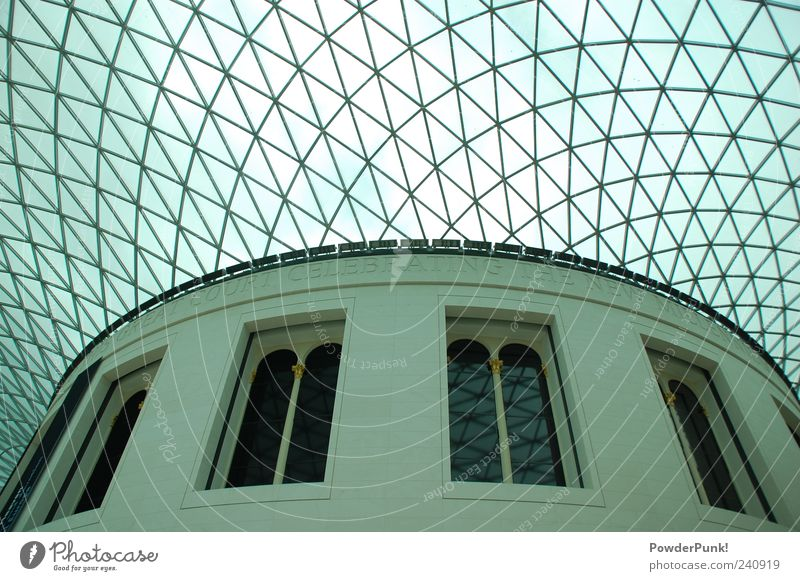 london calling Sightseeing City trip Art Museum Work of art Architecture London Great Britain Europe Deserted Palace Manmade structures Building Roof