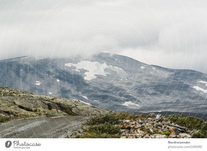 Sort important items Mountain Nature Landscape Elements Clouds Weather Bad weather Fog Rock Peak Street Lanes & trails Pass Norway Fjeld Gravel road