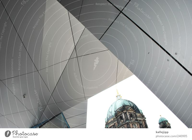 reformation Church Dome Manmade structures Wall (barrier) Wall (building) Berlin Cathedral humboldt box Domed roof Classical modern Old New Modernization Line