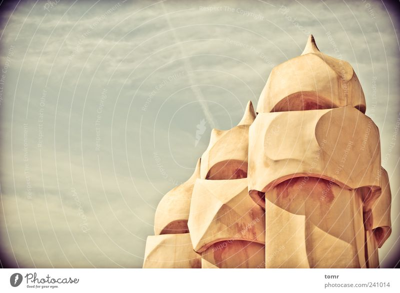 Gaudi's roof City Vacation & Travel House (Residential Structure) Colour Building Architecture Design Europe Esthetic Roof Monument Spain Landmark Downtown
