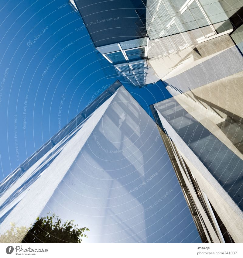 Window Architecture Building Style Business Facade Exceptional Tall Design Modern Fresh Growth Esthetic Perspective Uniqueness Bank building