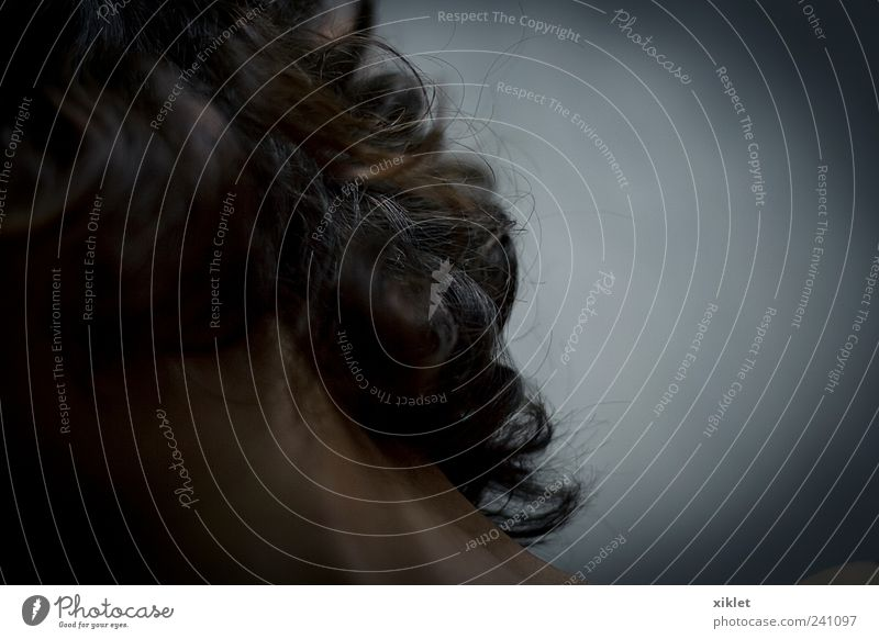 hair Woman Eyes Dark Movement Hair Action Obscure Hide Neck Gesture Monster Hidden Disheveled Face Abstract