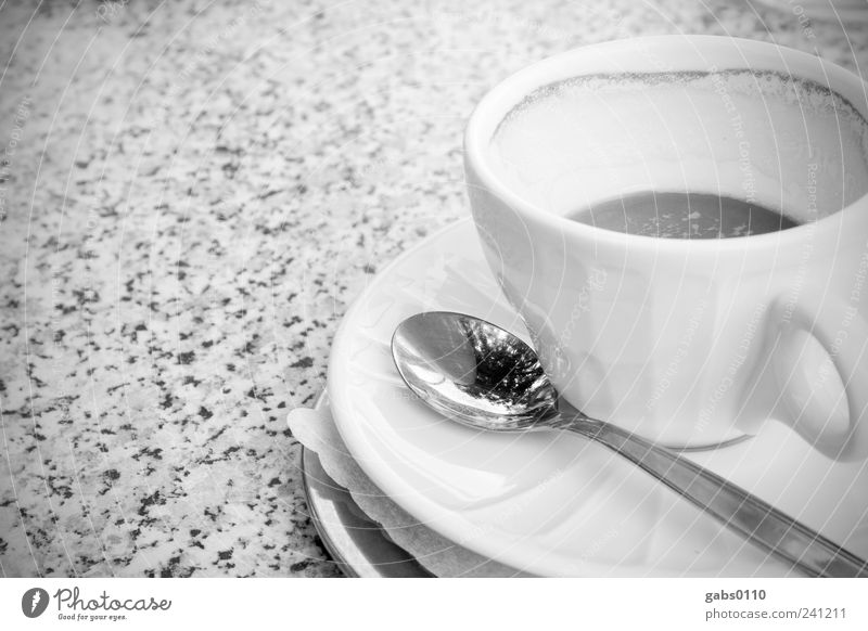 Relaxation Leisure and hobbies Food Empty Fresh Table Beverage Break Coffee Drinking Crockery Delicious Cup Vienna Spoon Espresso