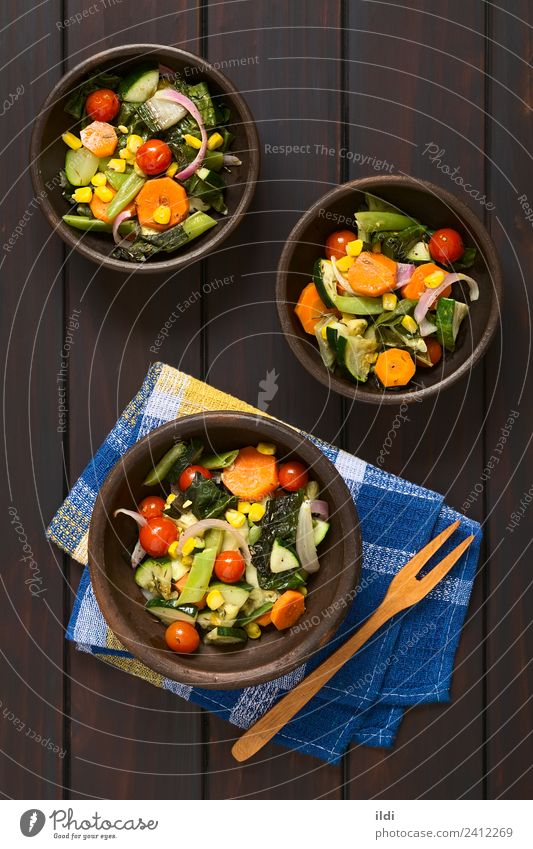Baked Vegetables Dish Healthy Fresh Meal Tomato Vertical Rustic Carrot Snack Beans Onion Broccoli Home-made Zucchini Mangold