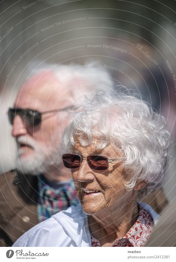 Woman Human being Man White Face Adults Senior citizen Couple Hair and hairstyles Orange Brown Gray Smiling 60 years and older Female senior Male senior