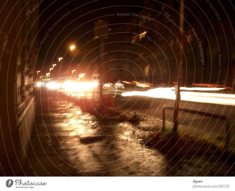 stresemann Night Rush hour Speed control Long exposure Stresemannstrasse Floodlight