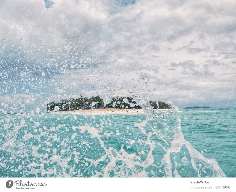 Sky Summer Blue Water Landscape White Ocean Clouds Beach Coast Movement Happy Tourism Swimming & Bathing Sand Horizon