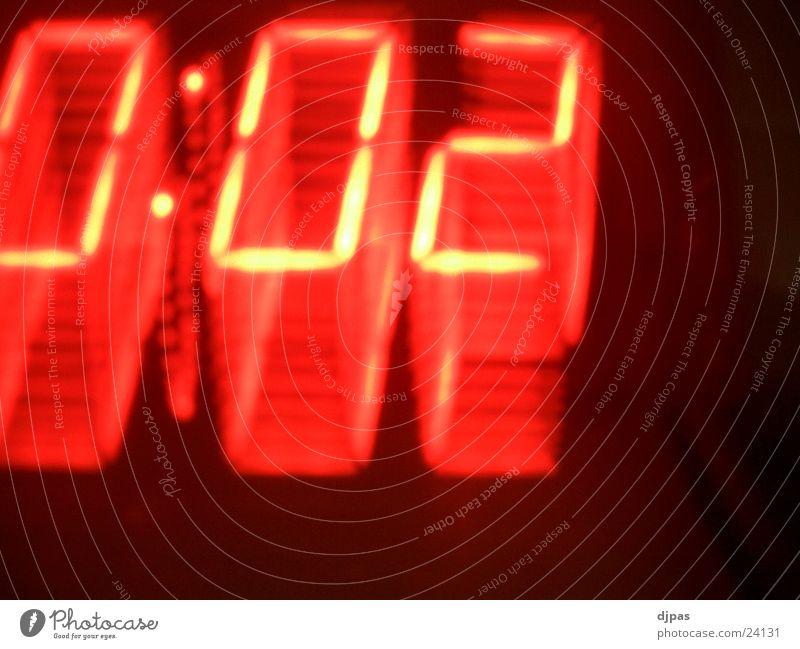 Warp 0:02 Digital clock Long exposure Time Movement Three-dimensional