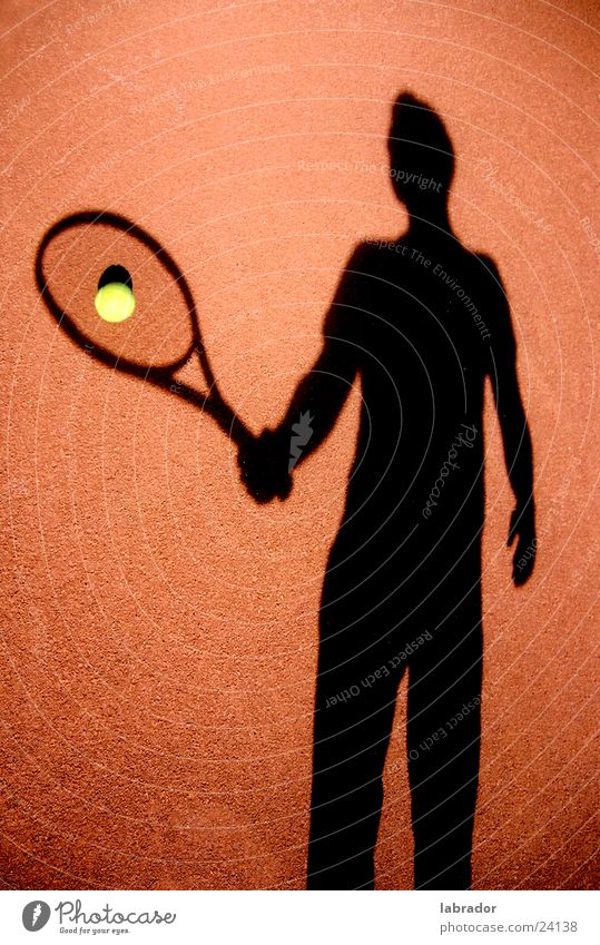 tennis Tennis Places Sports Ball Shadow Human being
