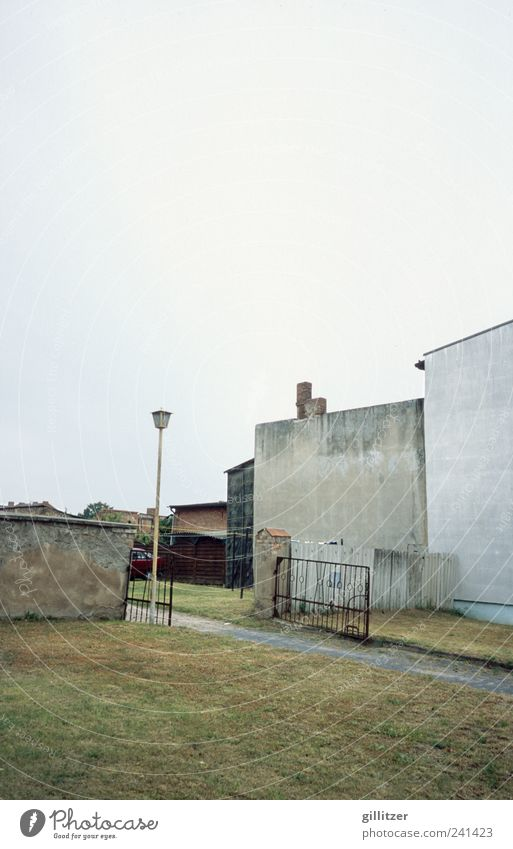 Just as bleak Village Small Town Deserted House (Residential Structure) Wall (barrier) Wall (building) Old Sadness Authentic Hideous Broken Gloomy Gray Modest