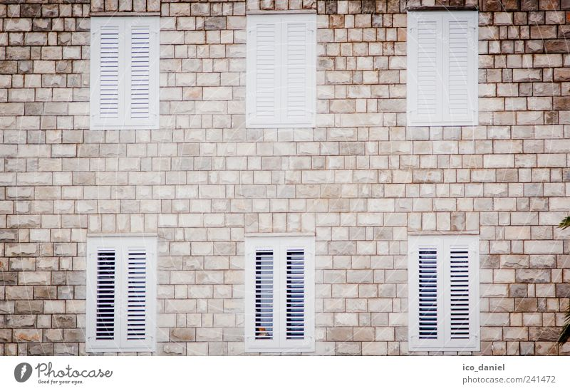 6 windows to the courtyard Living or residing Flat (apartment) House (Residential Structure) House building Moving (to change residence) Mlini Croatia Europe