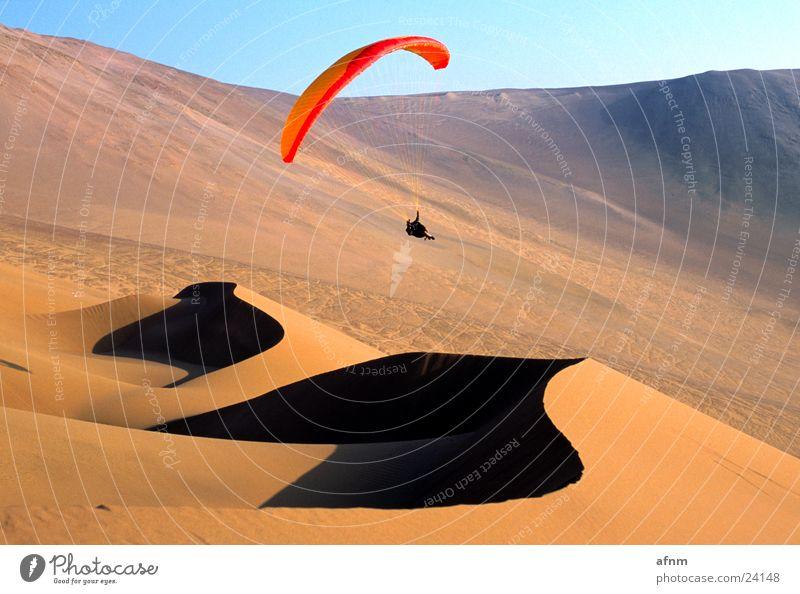 Sky Sports Parachute Desert Paraglider