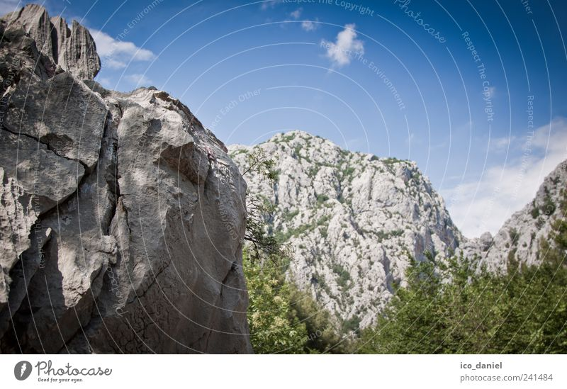 Nature Blue Green Joy Vacation & Travel Clouds Landscape Gray Movement Stone Park Power Going Rock Trip Hiking