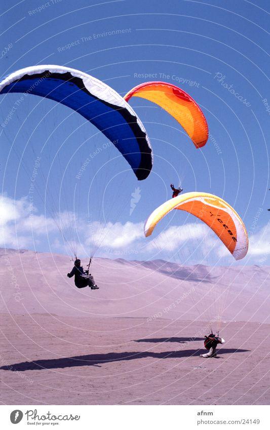 aerodyne.fr Paraglider Sports Desert Sky Skyline