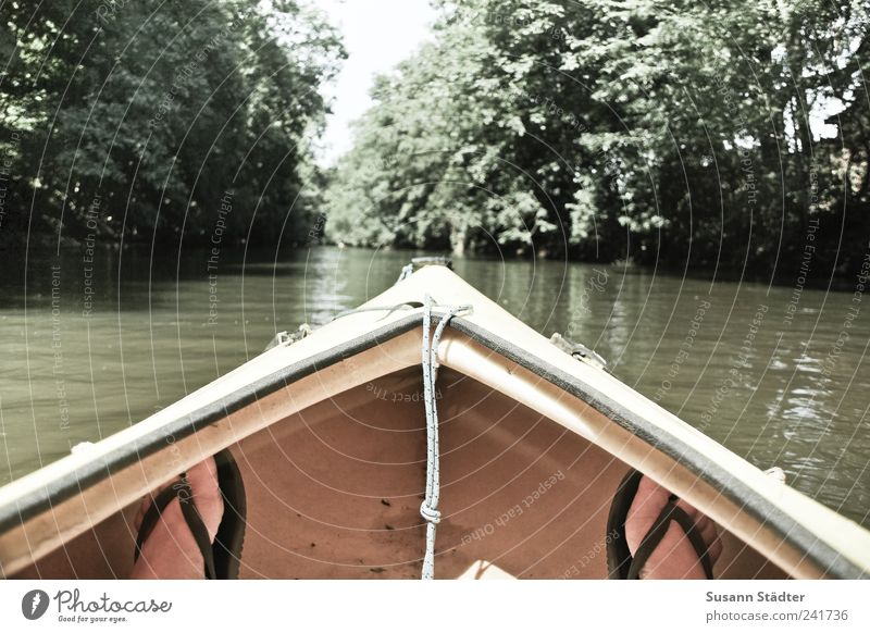 Loneliness Far-off places Life Freedom Leisure and hobbies Contentment Trip To enjoy Uniqueness Adventure River Canoe Stagnating Expedition Flip-flops Outbreak
