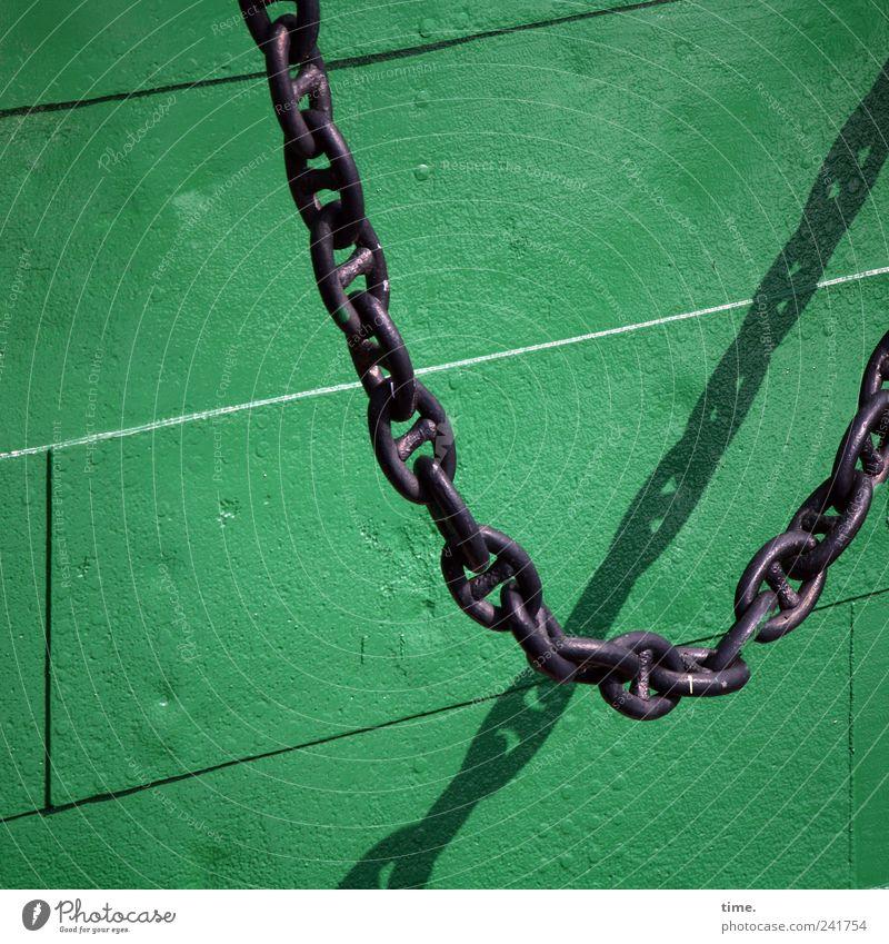Green Black Metal Chain Tin Parallel Rivet Ship's side Anchor chain