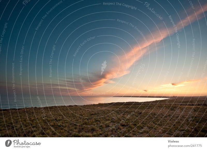 Water Beach Vacation & Travel Calm Relaxation Sand Landscape Moody Joie de vivre (Vitality) Portugal Algarve