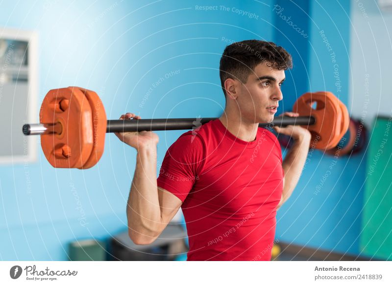 Shoulder training Man Adults Lifestyle Sports Action Fitness Railroad Wellness Athletic Strong Diet Lift Gymnasium Sportswear