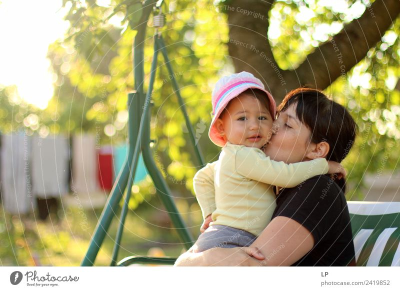 Pure love Lifestyle Joy Living or residing Dream house Mother's Day Parenting Education Kindergarten Child Human being Feminine Baby Girl Young woman