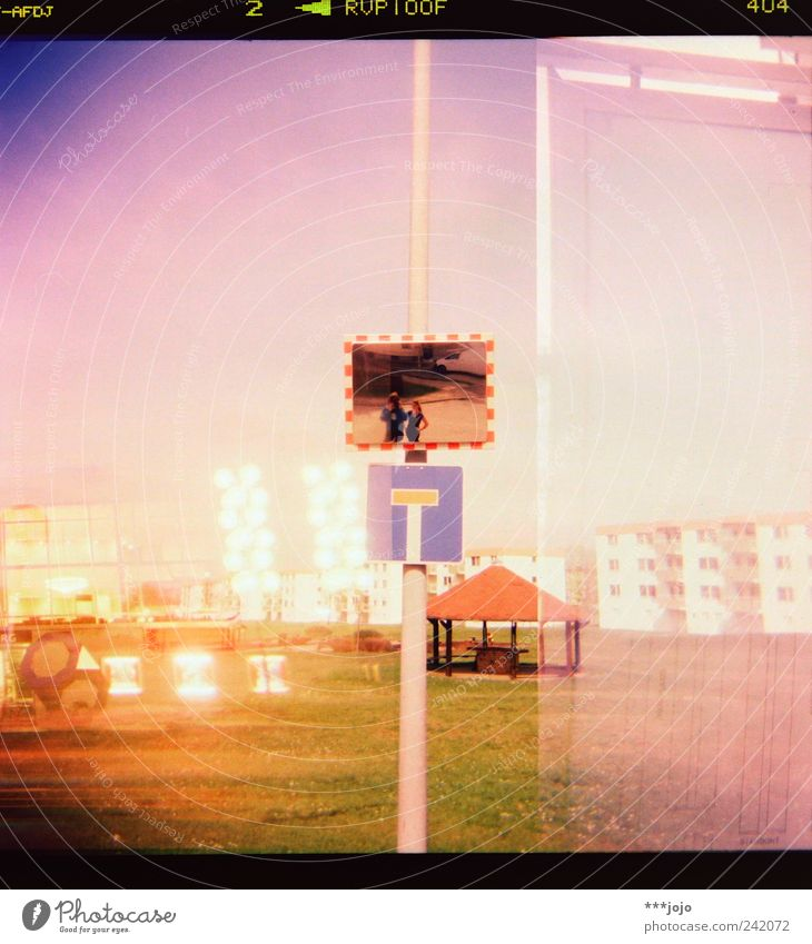 -AFDJ 2 > RVP100F 404 No through road Pink Analog Architecture Cross processing Double exposure False coloured House (Residential Structure) Modern