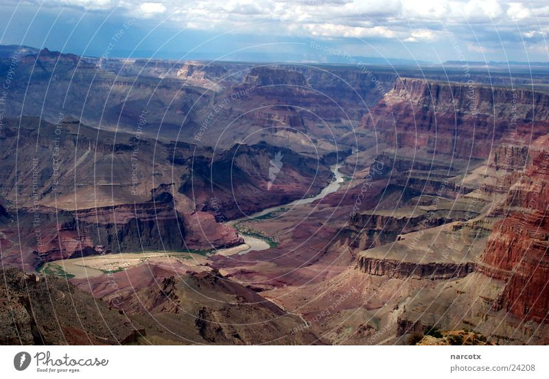 Vacation & Travel Rock Large River USA Level Americas Canyon Famousness National Park Impressive Colorado Destination Experiencing nature South West Grand Canyon