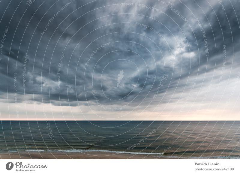 Nature Water Sky Ocean Beach Vacation & Travel Clouds Dark Rain Air Coast Waves Wind Weather Environment Island