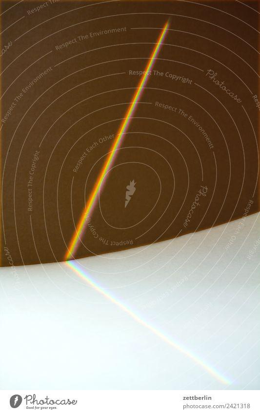prism Structures and shapes Geometry Cardboard Light Refraction Strip of light Light streak Beam of light Rainbow Prismatic colors Prismatic colour Cloth Optics