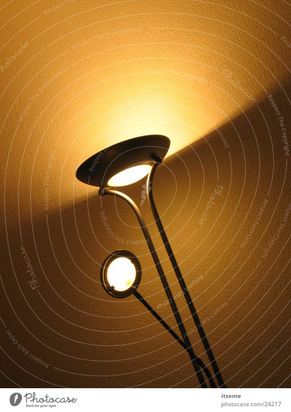 Flood_03 Light Lamp Ceiling light Floodlight Cone of light Dim Yellow Beige Living or residing Colossus titanium-coloured